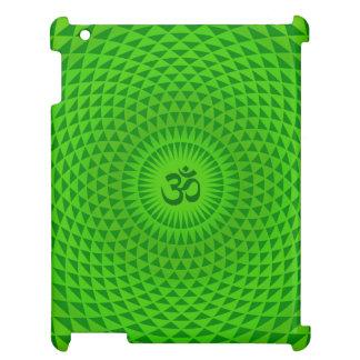 För lotusblommablomman för smaragden rullar den iPad mobil skydd