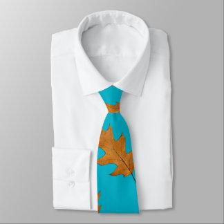 För lövnatur för nätt blått stor Tie för tryck Slips