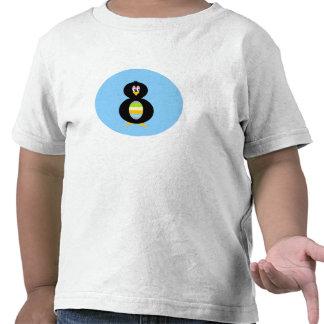 För lycklig för pingvinsmåbarn lite t-skjorta t-shirts