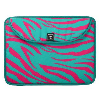 För MacBook för shock rosakrickasebra fodral för d MacBook Pro Sleeve