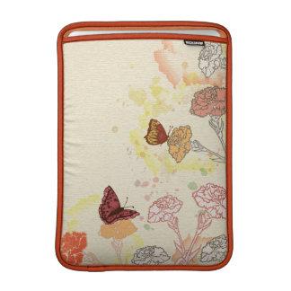 För Macbook för vattenfärg blom- sleeve luft