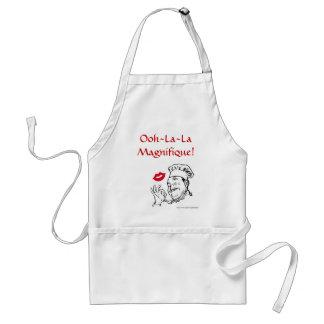 För Magnifique för Ooh lala cuisine fransk Förkläde