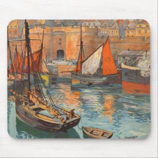 För Malo för vintageCote d'Emeraude Sanktt turism Mus Mattor