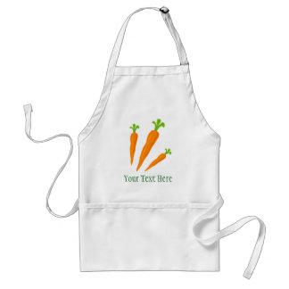 För manar gulligt förkläde för morotgrönsakbbq och