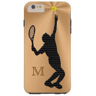 För manar Monogrammed fodral för tennisiPhone 6 Tough iPhone 6 Plus Skal