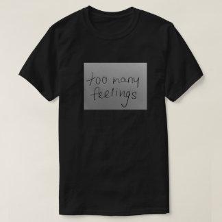 för många känselförnimmelser tröjor