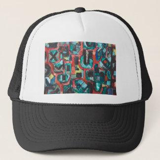 För många kurvor (abstrakt cityscape) keps