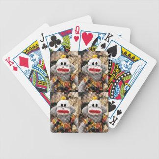 För många SockMonkeys Spelkort