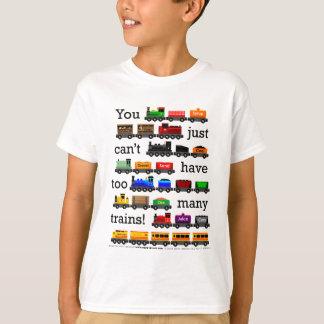 För många tåg tröjor