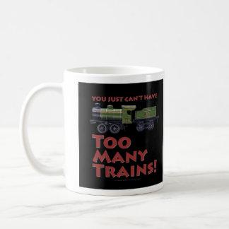 För många tåg! UrverkLoco Kaffemugg