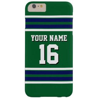 Forest Green Navy Team Jersey Custom Number Name