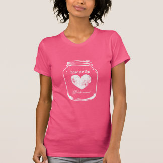 För masonburk t för lantligt land chic skjorta för t-shirts