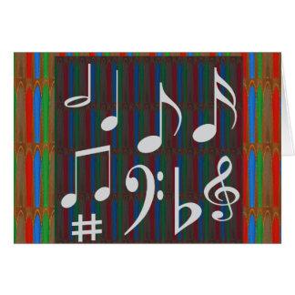 För Mastreo för musiker för musikband för Hälsningskort