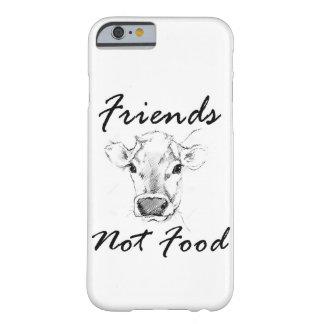 För matVegan för vänner inte Iphone mobilt fodral Barely There iPhone 6 Skal