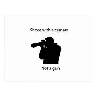 for med en kamera vykort