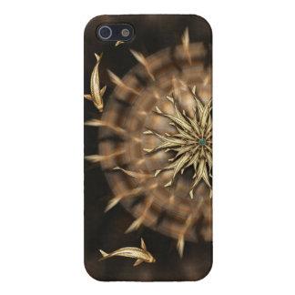 För metallMandala för åtta Koi iphone case för vet iPhone 5 Cover