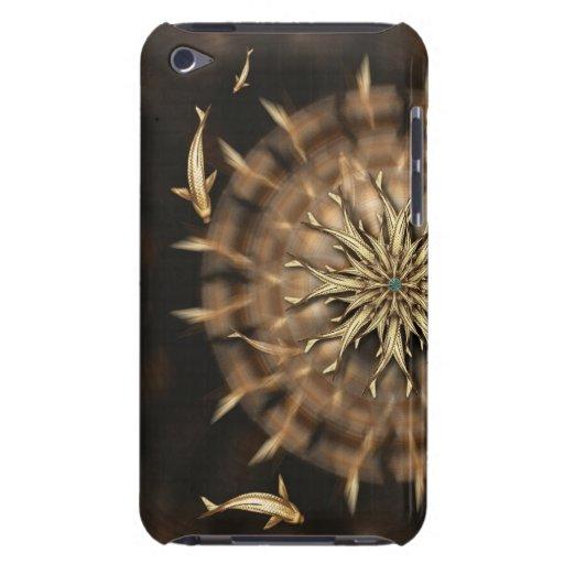 För metallMandala för åtta Koi ipod fodral för kom Case-Mate iPod Touch Skydd