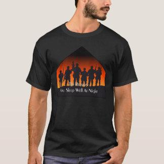 För minnedag för sömn väl T-tröja T-shirt
