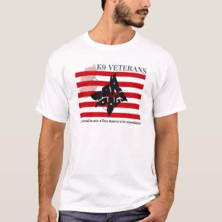 För minnedag för veteran K9 T-tröja Tee Shirt