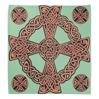 För mintgrönt för Celtic arg fnurra för persika Bandana