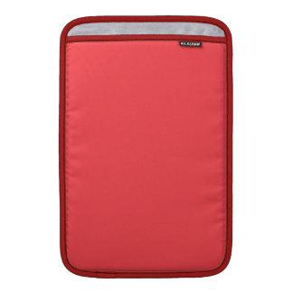 För modefärg för vallmo rött tendera MacBook sleeve