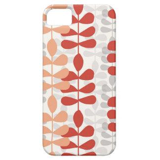För modernt fodral för mönster för design Fernlöv iPhone 5 Cover