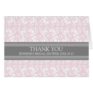 För möhippatack för rosor grått damastast kort