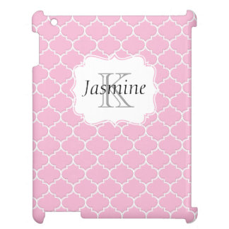 För MonogramiPad för rosor och för vit iPad Skal