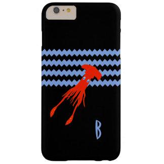 För monogramtelefon för djupt hav fodral barely there iPhone 6 plus skal