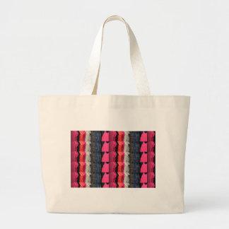 För mönstertrycket för mode tillfogar den färgrika jumbo tygkasse