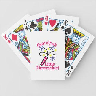 För morfäder smällare lite spelkort