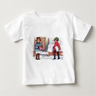 För morgonhärlighet för vintage Retro kort för T Shirt
