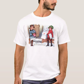 För morgonhärlighet för vintage Retro kort för Tshirts
