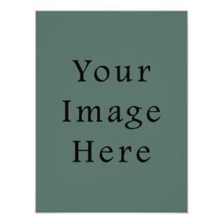 För Mossgrönt för vintage mörk mall för trend för  Fototryck
