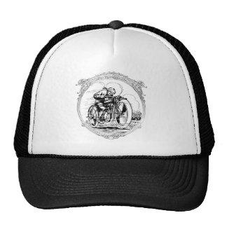 För motorcykelman för vintage Retro hatt för lock Keps