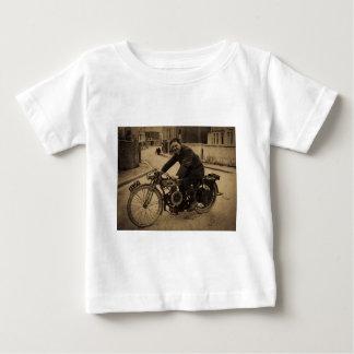 För motorcykeltidigt för vintage brittiska 1900s t shirt