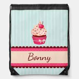För muffinMint för personlig rosa bakgrund för Gympapåse