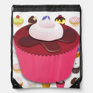 För muffins Drawstringryggsäck 3 Galore - Gympapåse