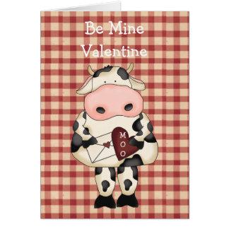 För muko för land roligt valentin kort för dag