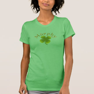 För Murphy för st patricks day irländsk skjorta T-shirts