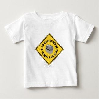 För mycket surfa för webben kan vara farligt ditt t-shirt