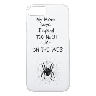 För mycket tid på webben