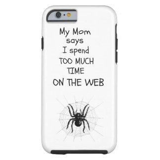 För mycket tid på webben tough iPhone 6 fodral