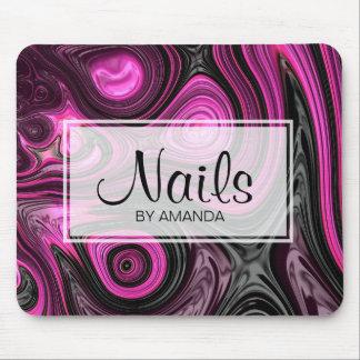 För NailArt för Pedicure för nagelnagelkonstnär Musmatta
