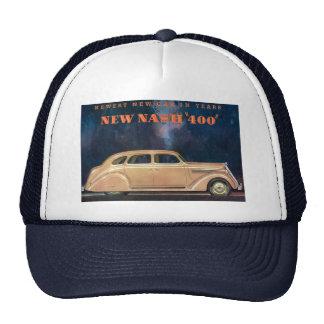 För Nash 400 för vintage annonsetikett nytt lock Keps