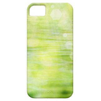 För naturvatten för pastell grönt solljus för iPhone 5 cases