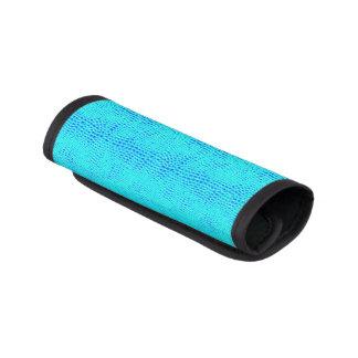 För neonblått för sjöjungfru skalaa läder för handtagsskydd