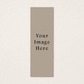 För neutral tom mall färgtrend för Taupe Litet Visitkort