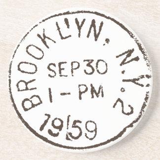 för New York City för vintagebrooklyn nyc porto Underlägg