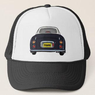 För Nissan Figaro för anpassningsbar svart lock Keps